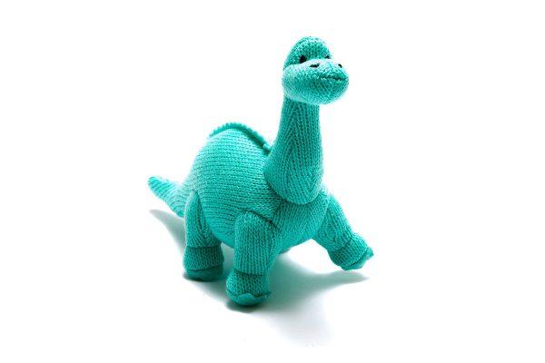 Ice Blue Diplodocus for children